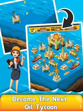 Oil Tycoon 2 - Idle Clicker Factory Miner Tap Game pc screenshot 1