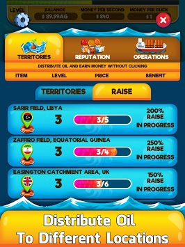 Oil Tycoon 2 - Idle Clicker Factory Miner Tap Game pc screenshot 2