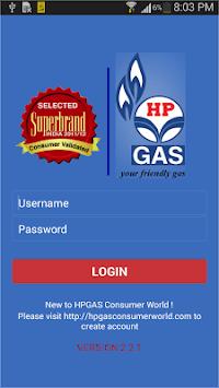 HP GAS App pc screenshot 1