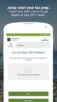 H&R Block Tax Prep and File pc screenshot 1