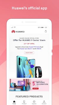 Huawei Store pc screenshot 1