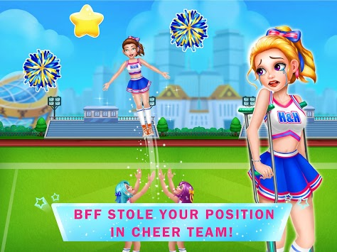 Cheerleader's Revenge 3 - Breakup Girl Story Games pc screenshot 1