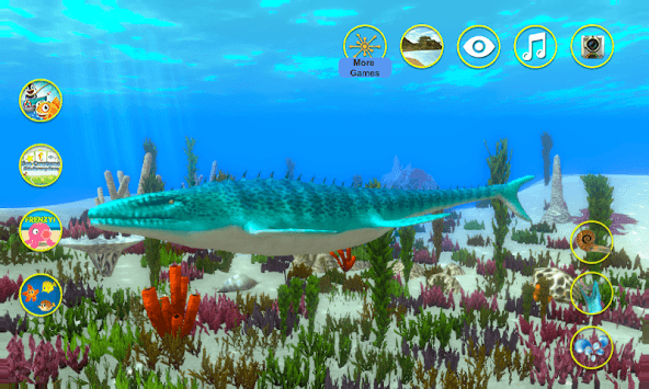 Talking Mosasaurus pc screenshot 1