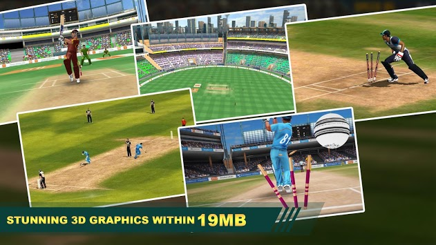 Cricket Lite 3D: Real-Time Multiplayer pc screenshot 1