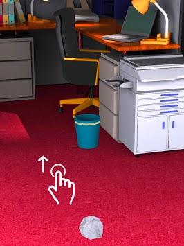 Paper Throw - Aim and Toss pc screenshot 1