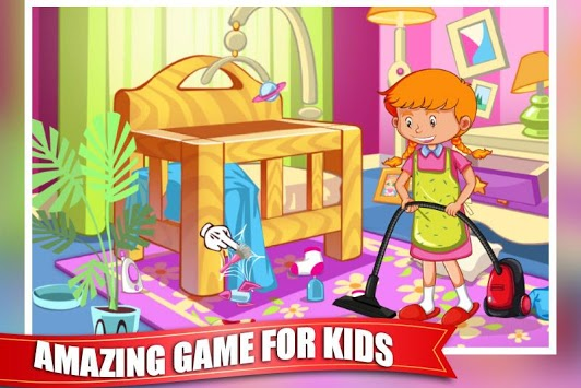 Princess Doll House Cleaning Game for Girls pc screenshot 1