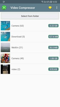 Video Compressor - Fast Compress Video & Photo pc screenshot 1