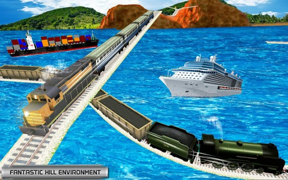 World Train Driving 3D pc screenshot 1