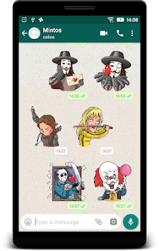 Movie Stickers - Earn Money - WAStickerApps pc screenshot 1