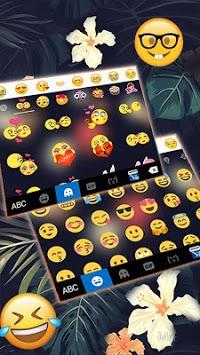 Autumn Floral Keyboard Theme pc screenshot 1