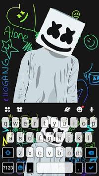Dj Music Doodle Keyboard Theme pc screenshot 1