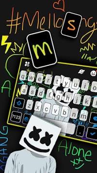 Dj Music Doodle Keyboard Theme pc screenshot 2