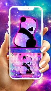 Galaxy Baby Panda2 Keyboard Theme pc screenshot 1