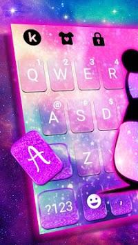 Galaxy Baby Panda2 Keyboard Theme pc screenshot 2