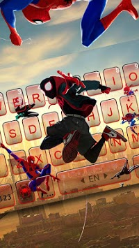 Into The Spider Verse Keyboard Theme pc screenshot 1