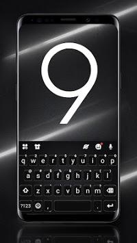 S9 Black Keyboard Theme pc screenshot 1
