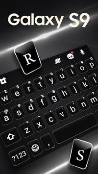 S9 Black Keyboard Theme pc screenshot 2