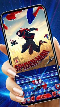 Spider-Man: Spiderverse Keyboard Theme pc screenshot 1