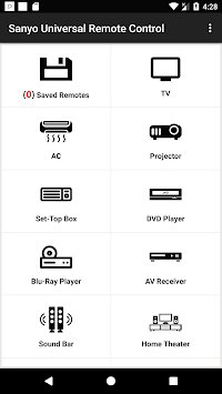 Sanyo Universal Remote Control pc screenshot 1