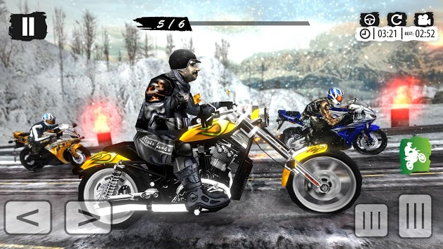 Extreme Mountain Bike Race – Snow Motocross Racing pc screenshot 2