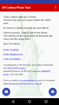 DV Lottery Photo Tool pc screenshot 1