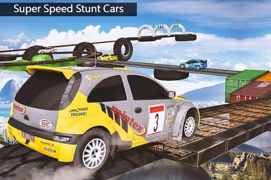 Impossible Drive Tracks Car Racing - Industrial pc screenshot 1