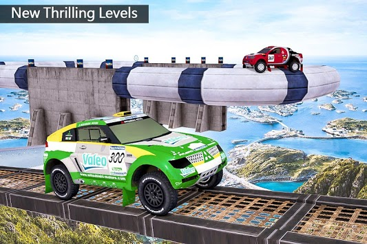 Impossible Drive Tracks Car Racing - Industrial pc screenshot 2