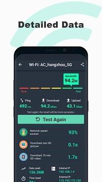 Free Internet speed test - SpeedTest Master pc screenshot 2