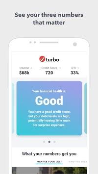 Turbo: Income, credit score & debt to income pc screenshot 1