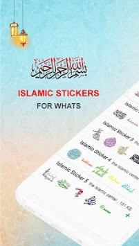 The Islamic Sticker For WhatsApp ملصقات إسلامية pc screenshot 1