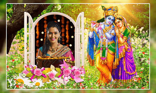 Radha Krishna Photo Frames pc screenshot 1