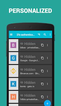 2FA Authenticator app pc screenshot 1