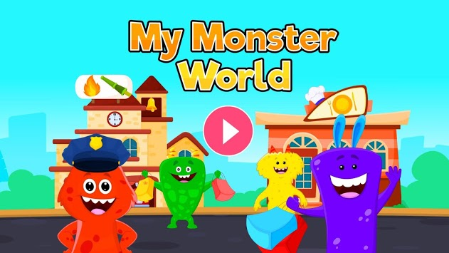 My Monster World - Town Play Games for Kids pc screenshot 1