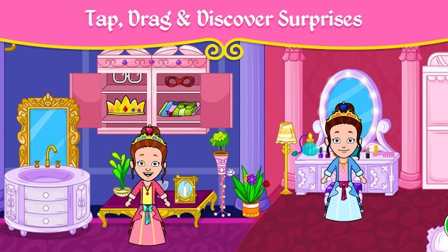 👸 My Princess Town - Doll House Games for Kids 👑 pc screenshot 1