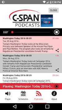 C-SPAN Radio pc screenshot 1