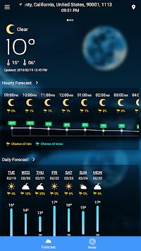 Weather Forecast pc screenshot 1