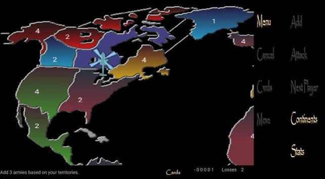 Empire XP Lite ( risk game ) pc screenshot 1