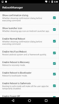 Reboot Manager (*ROOT*) pc screenshot 1