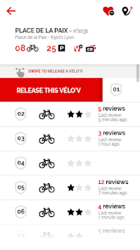 Vélo'v officiel pc screenshot 1