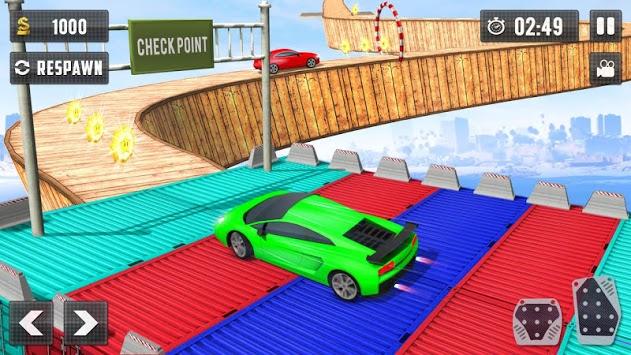Crazy Car Driving Simulator: Impossible Sky Tracks pc screenshot 1