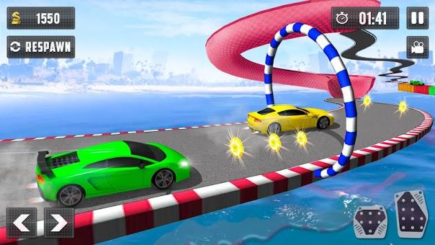 Crazy Car Driving Simulator: Impossible Sky Tracks pc screenshot 2