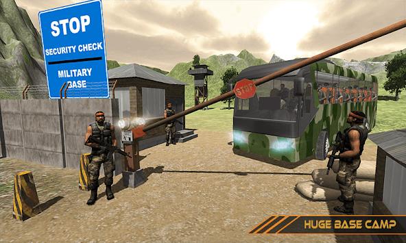 US City Army Coach Bus Simulator 3D 2019 pc screenshot 1