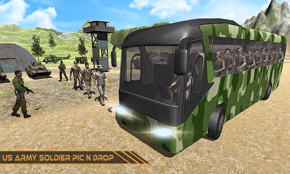 US City Army Coach Bus Simulator 3D 2019 pc screenshot 2
