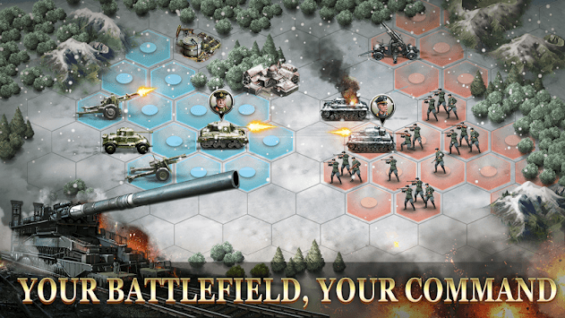 WW2: Strategy Commander Conquer Frontline pc screenshot 1