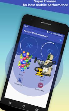 Phone Booster: Super Memory Cleaner App pc screenshot 1