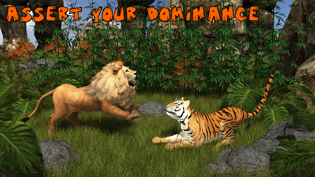Ultimate Lion Vs Tiger: Wild Jungle Adventure pc screenshot 1