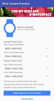 Wrist Camera: Wear OS / Galaxy Watch / Gear S3 App pc screenshot 1