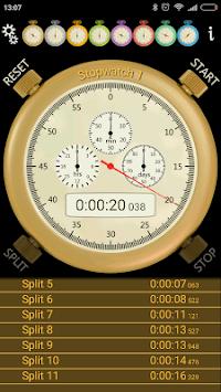 Stopwatch pc screenshot 1