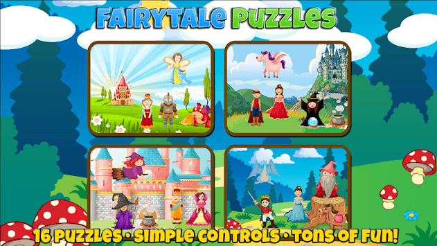Fairytale Puzzles: Fun For a Princess or Prince pc screenshot 1