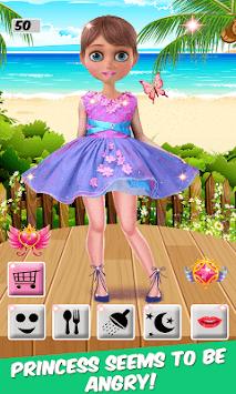 Angry Princess Salon: Fashion Dressup And Makeup pc screenshot 1